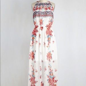 Soieblu maxi dress NWOT small